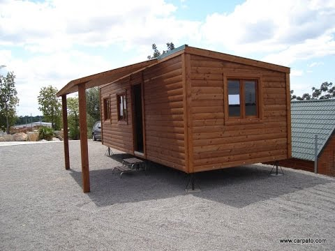 Como hacer casas de madera baratas youtube for Casas de jardin de madera baratas