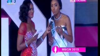 MBGN 2015 Top 5 Contestants Question and Answer Segment