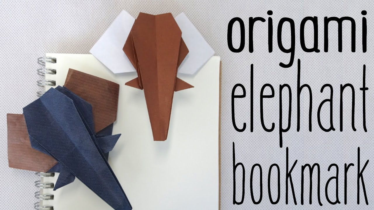 Step by step instructions to make a paper elephant origami ... | 720x1280