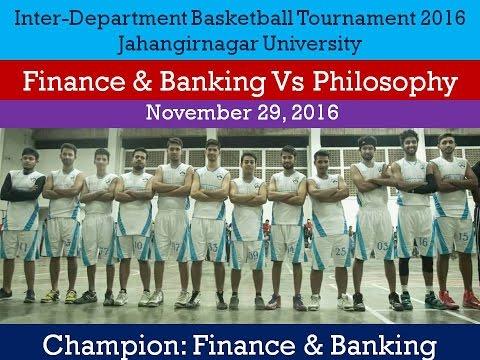 Finance & Banking Vs Philosophy | Inter-Department Basketball Tournament 2016 | JU |