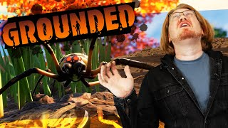 We Pooped Our Pants Playing GROUNDED (Survival Game)