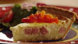 Quiche Recipes - How To Make Ham & Cheese Quiche