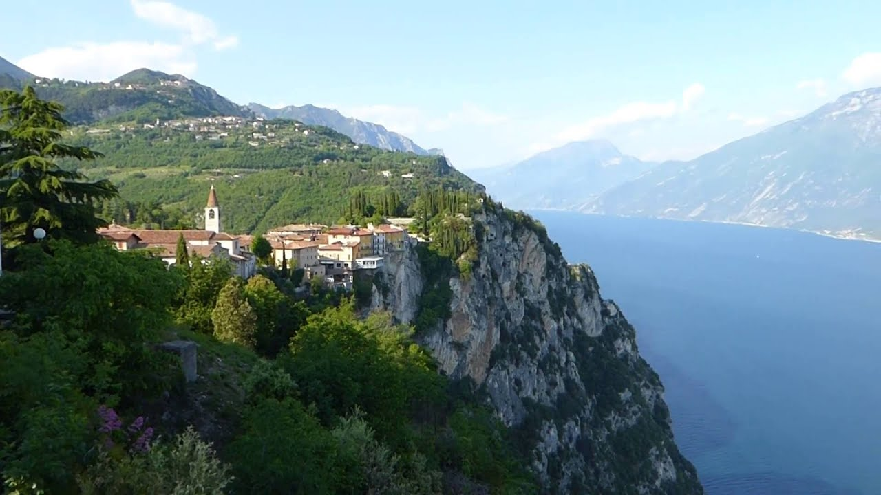 Panorama from Terrazza del Brivido, Tremosine. Lago di Garda. - YouTube