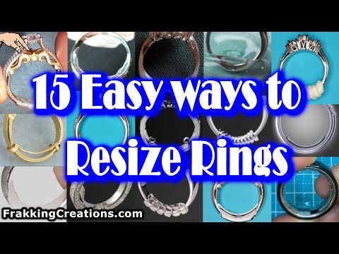 How to get your ring size smaller