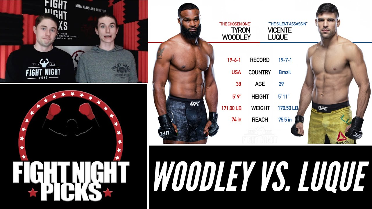 Ufc 260 Tyron Woodley Vs Vicente Luque Prediction Youtube