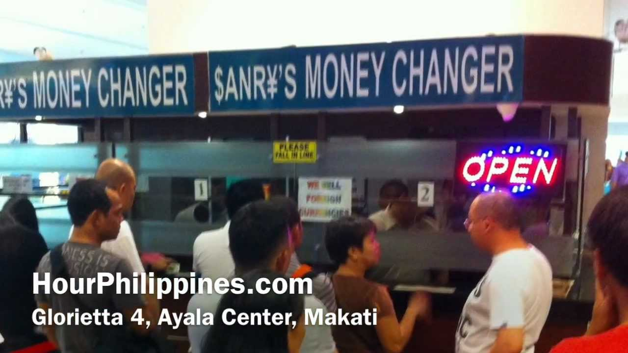 Sanry S Money Changer Glorietta 4 Ayala Center Makati Philippines By Hourphilippines