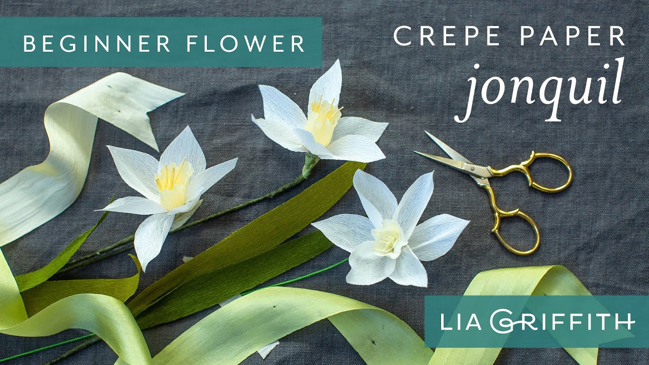 Video Tutorial: Extra-Fine Crepe Jonquil (Starter Pattern)