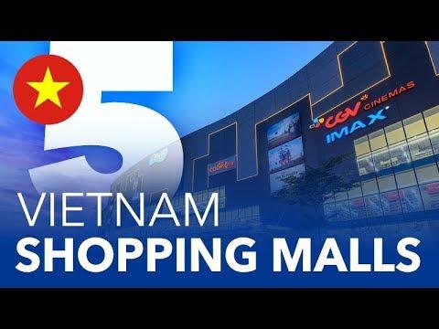 TOP 5 - Shopping Malls in Vietnam