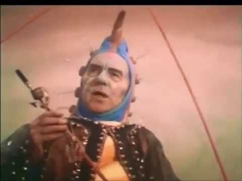 Ralph Richardson as the Caterpillar, Alice in Wonderland
