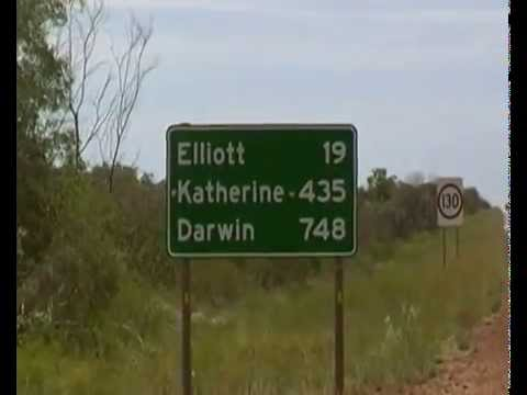 22012009 Outback cycling Stuart Highway 2