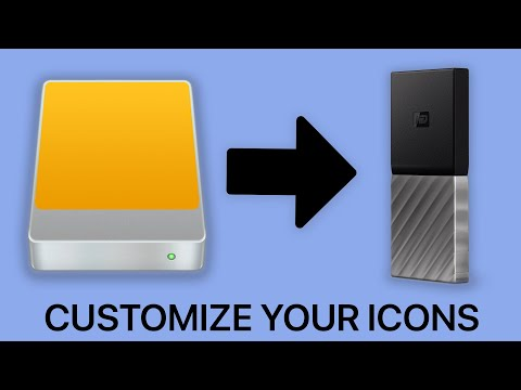 How To Change Drive Icons On MacOS (2020)