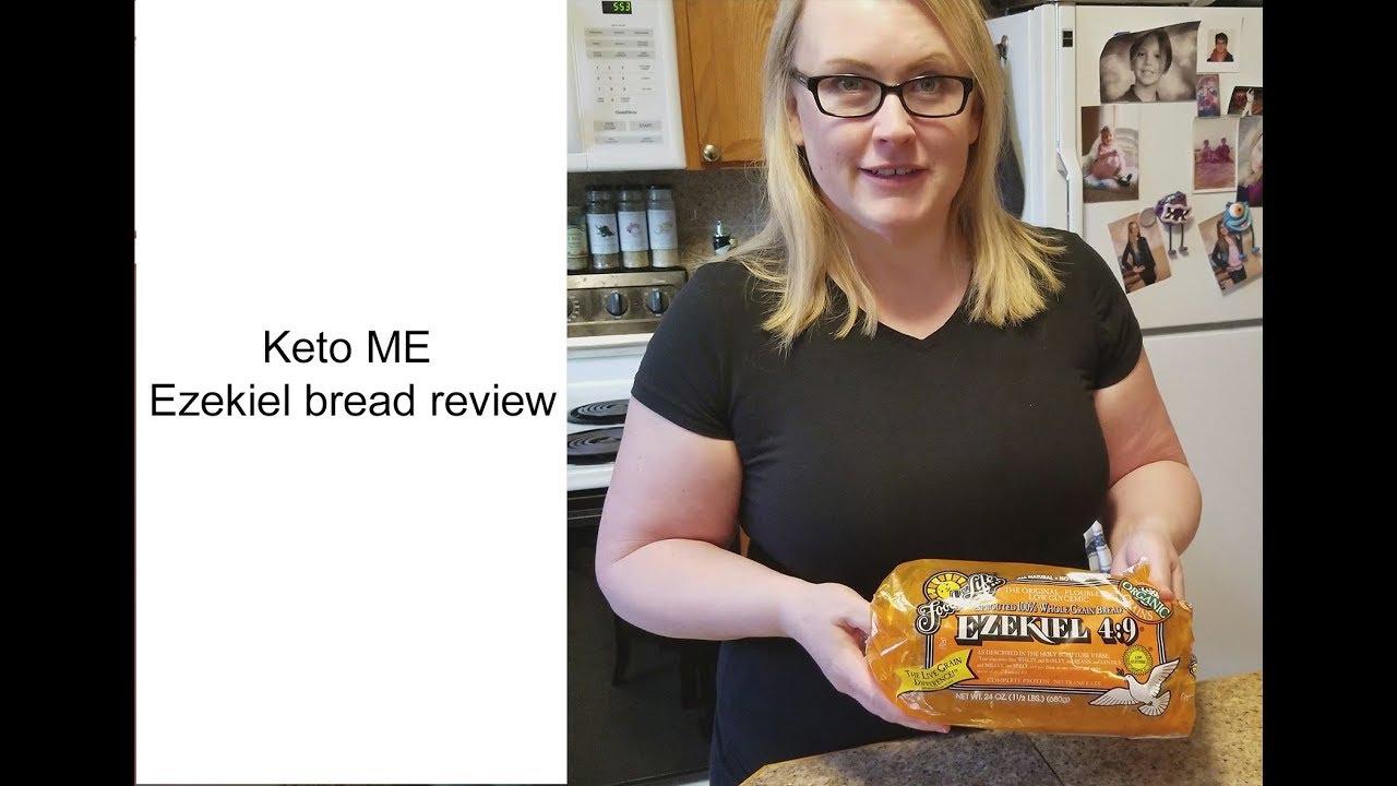 is ezekiel bread good for keto diet