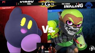 Viibes (Kirby) Vs. tHB | Kuroid (Inkling) R1 - Smash Ultimate