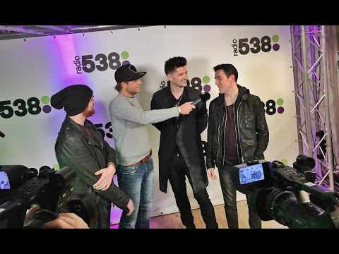 Interview The Script @ The voice of Holland