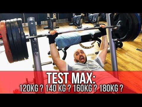 JE TESTE MON MAX AU DÉVELOPPÉ  COUCHÉ !!! 140? 150? 160?
