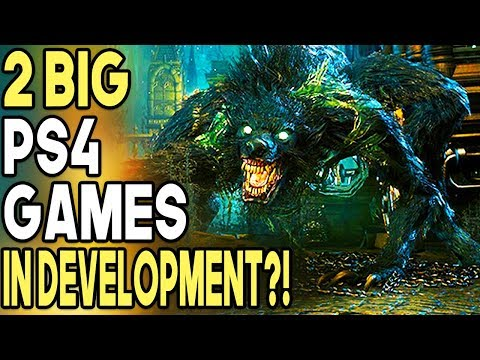 2 Big PS4 Games in Development? - New From Software Games!