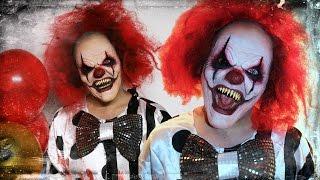 Evil Clown - Makeup Tutorial!