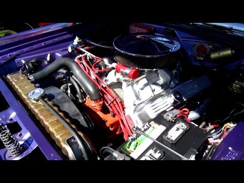 1970 Dodge Challenger R T 383 Magnum Engine Start Up Asp