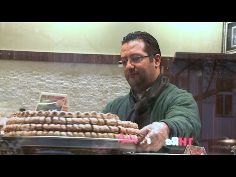 Berlin now 'home sweet home' for Syrian pastry chefs