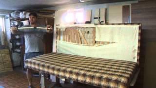 čalouněná pohovka  generální oprava díl  č.1- video