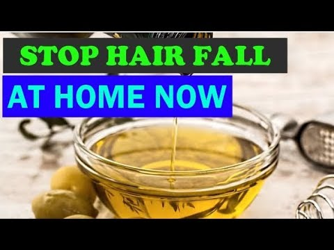 Get rid of hair fall fast | How to stop hair fall easily at home