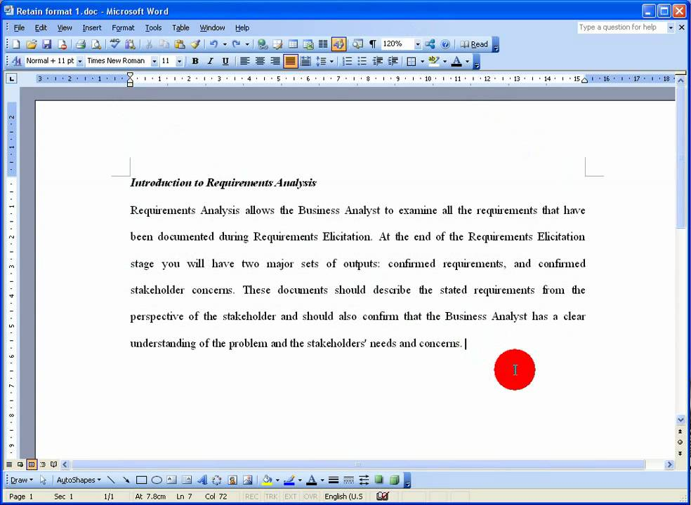 How To Retain Text Format When Copying And Pasting In Word 2003