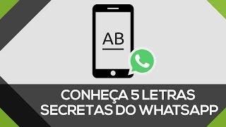 Como escrever com letras diferentes no Whatsapp | 5 TIPOS DE LETRAS