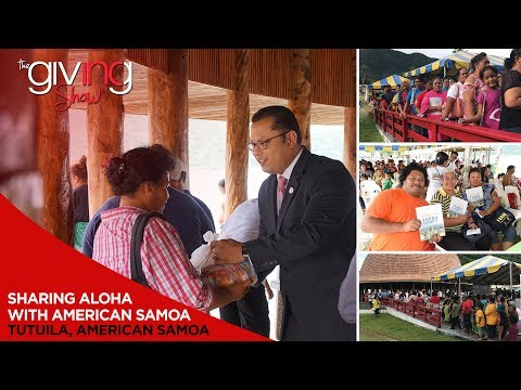 Sharing Aloha With American Samoa | INC Giving