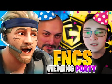 Gewinne ich die Wette gegen Amar, Vadeal und Ditrxx? FNCS Viewing Party Finale 3