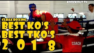 CLRAA Boxing 2018 Best Punches, KNOCKOUTS and TKO