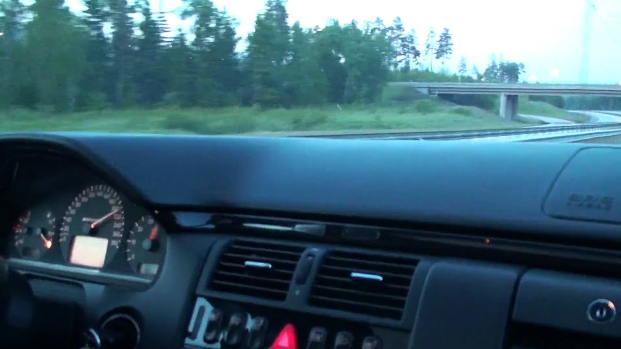 Mercedes W210 E55 AMG S/C and E60 M5 racing! - YouTube