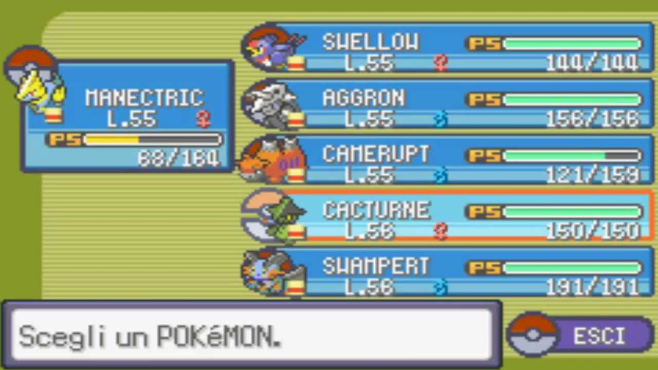 pokemon smeraldo per pc
