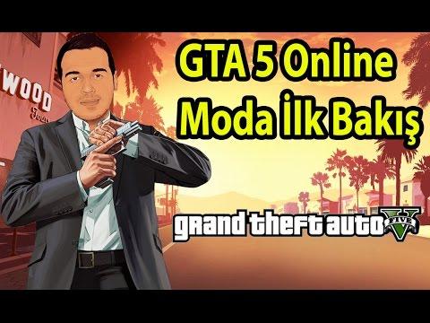 GTA 5 - Online Moda İlk Bakış #02 Arabam Duruyor Oleyyyyy