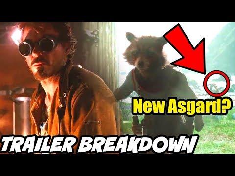 Avengers Endgame Trailer 2 Super Bowl 2nd Breakdown New Asgard Hindi