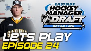 Episode 24 - 2016 Entry Draft | Eastside Hockey Manager:Early Access 2015 Lets Play