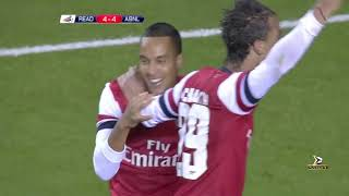 arsenal Vs Reading 7 - 5 All Highlights And Goals - HD 720p!