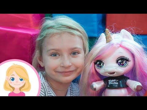 Маленькая Вера спасает единорога Poopsie - Приключения и развлечения на детской площадке