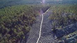 Aittakuru pyhä luosto kansallispuisto ilmastakuvattuna