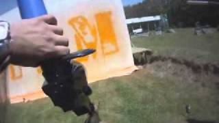 Ronn Stern Paintball Art - in conjunction with A-Team movie promotions