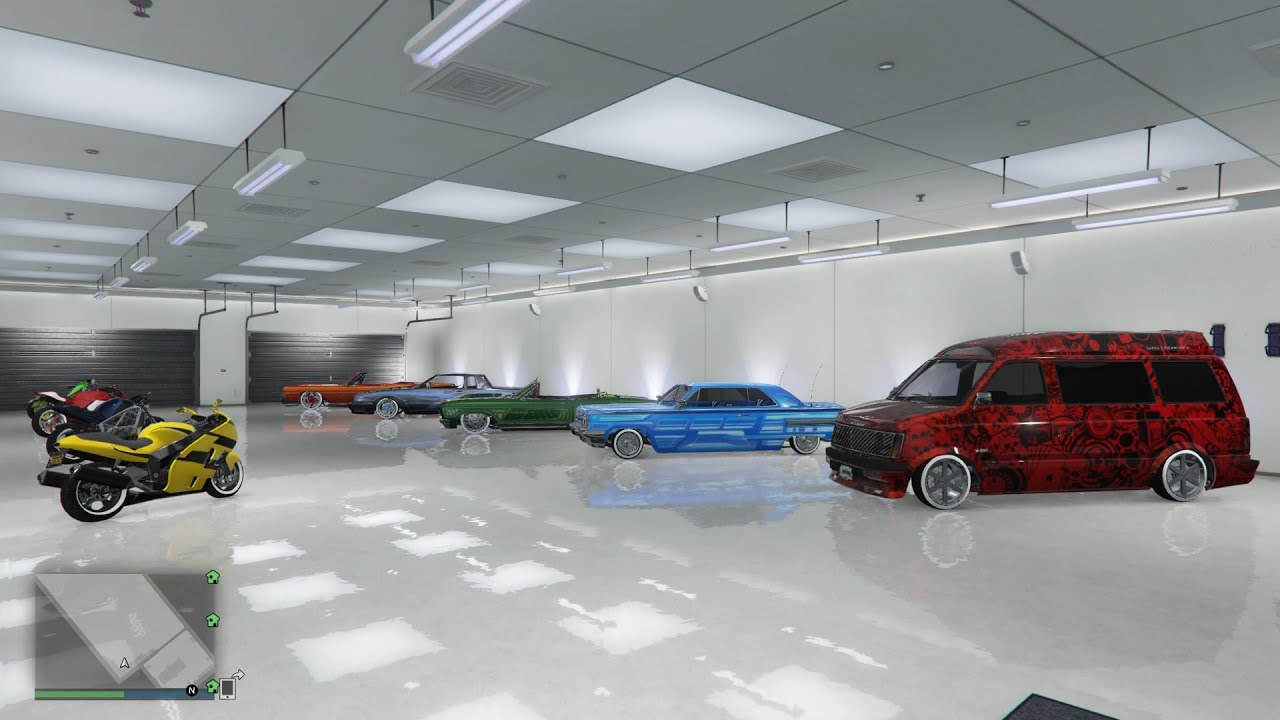 40 car garage tour gta 5 after halloween surprise update youtube. Black Bedroom Furniture Sets. Home Design Ideas
