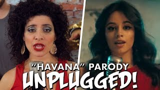 "Camila Cabello ""Havana"" PARODY! The Key of Awesome UNPLUGGED!"
