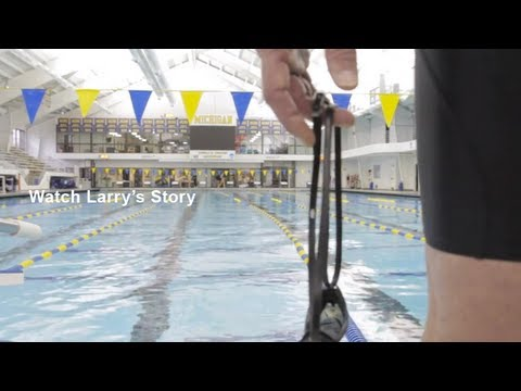 Larry Day, from heart-attack patient to record-breaking swimmer