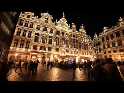 Dynamic illumination for Grand Place, Brussels