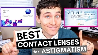 Best Contact Lenses for Astigmatism - Toric Contacts Review