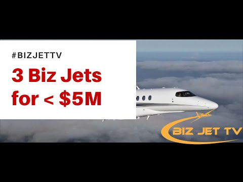 3 Private Jets For Less Than $5M