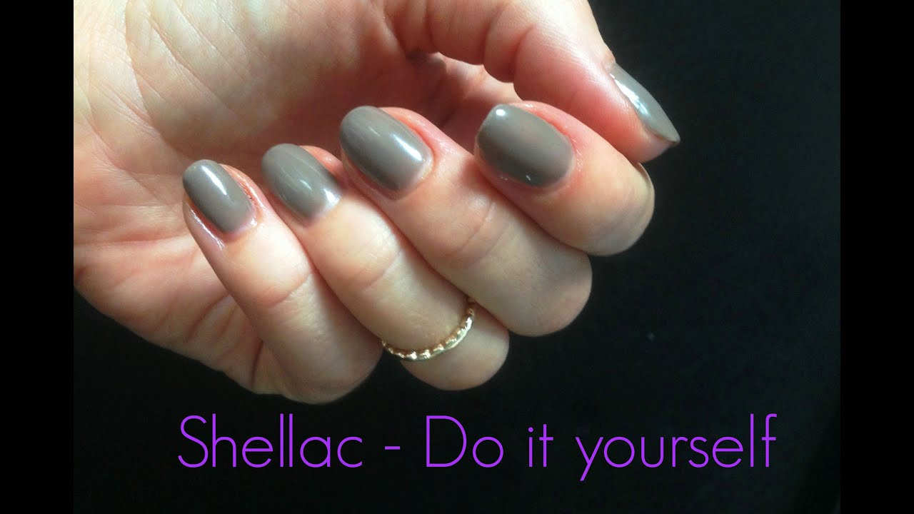 ♥ Shellac - Selbst gemacht | Do it yourself - YouTube