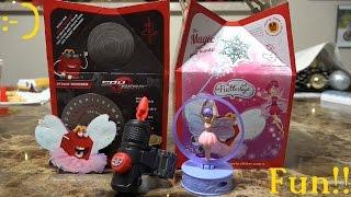 McDonald's Happy Meal: Spy Gear and Flutterbye Fairy Toys - Hulyan & Maya
