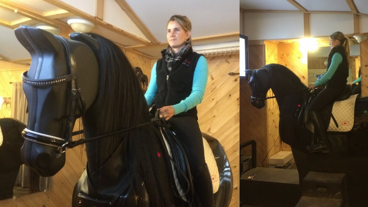 What it's like to ride a 'Mechanical Horse'