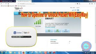How to Openline or Unlock Pocket Wifi(EasyWay)