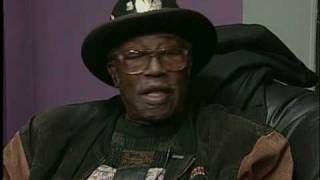 Bo Diddley talks about opening for The Clash